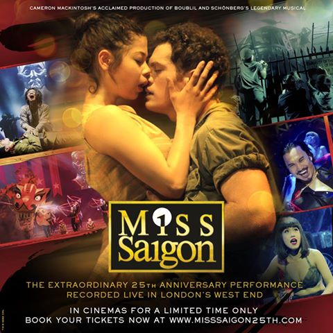 The Movie In My Mind (Movie Thoughts: Miss Saigon 25th Anniversary Presentation, Fathom Events)