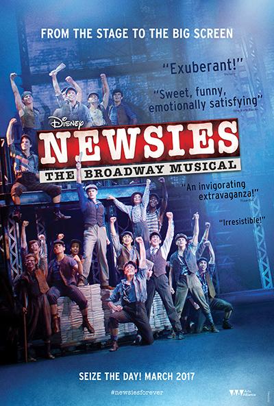 Newsies-BroadwayMusicalStagetoScreen